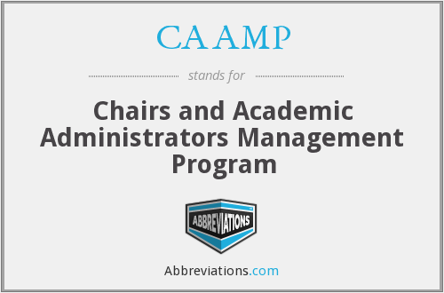 What does CAAMP stand for?