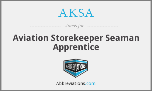What does AKSA stand for?