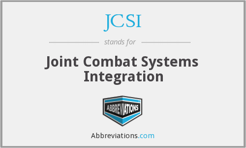 What does JCSI stand for?