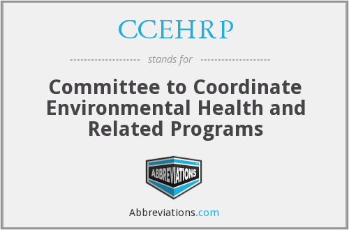 What does CCEHRP stand for?