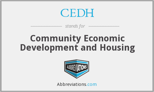 What does CEDH stand for?