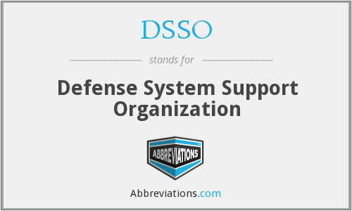 What does DSSO stand for?