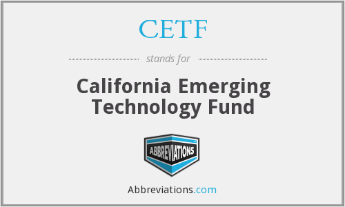 What does CETF stand for?