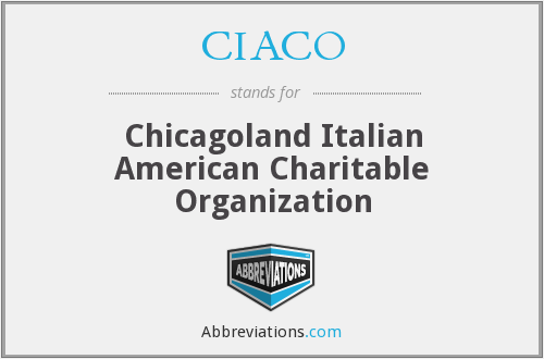 What does CIACO stand for?