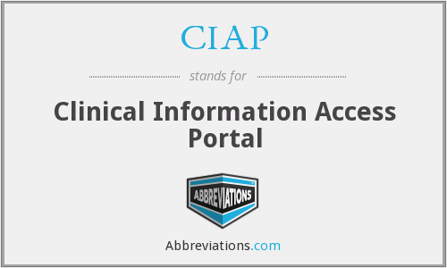 What does CIAP stand for?