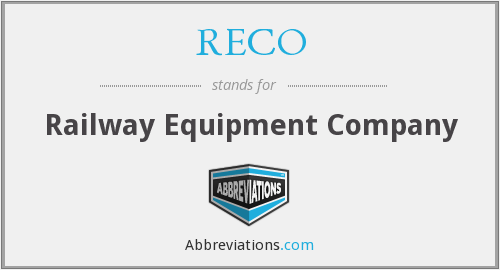 What does RECO stand for?