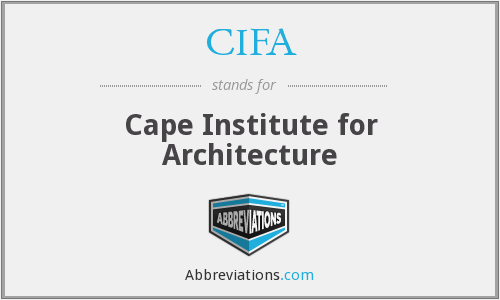 What does CIFA stand for?