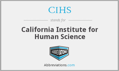 What does CIHS stand for?