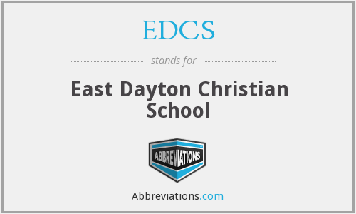 What does EDCS stand for?
