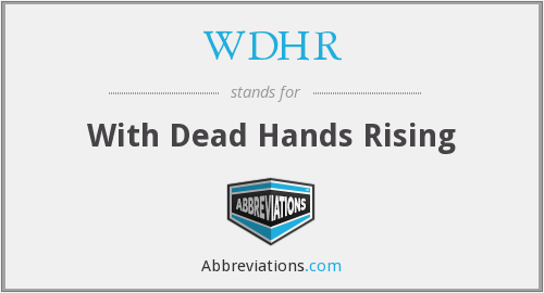 What does WDHR stand for?