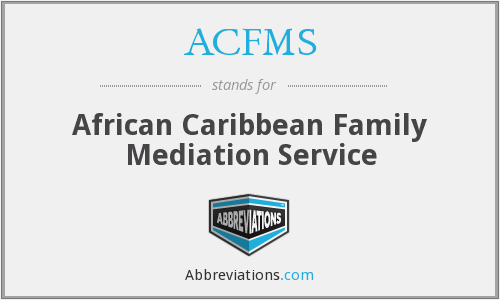 What does ACFMS stand for?