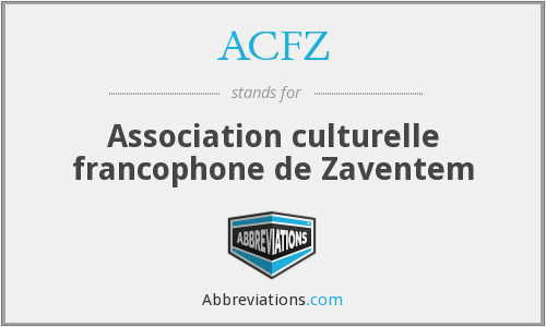 What does ACFZ stand for?
