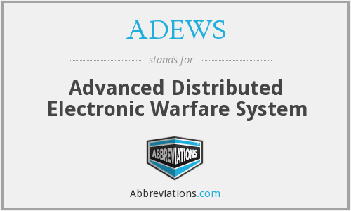 What does ADEWS stand for?