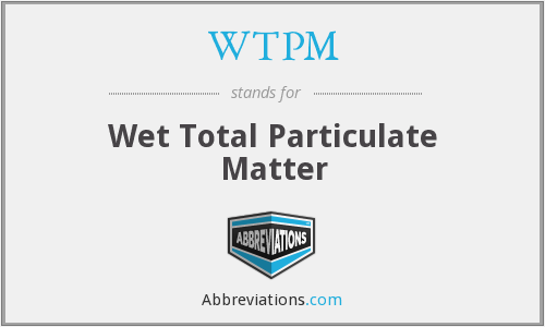 What does WTPM stand for?