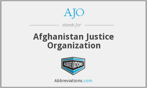 What does AJO stand for?