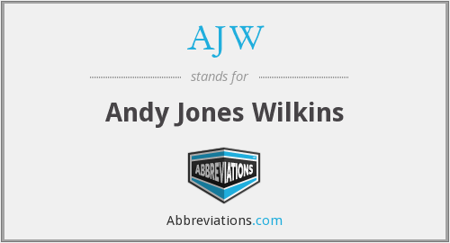 What does AJW stand for?