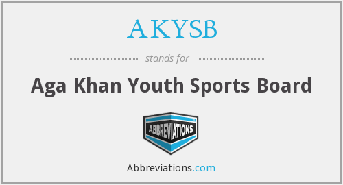 What does AKYSB stand for?