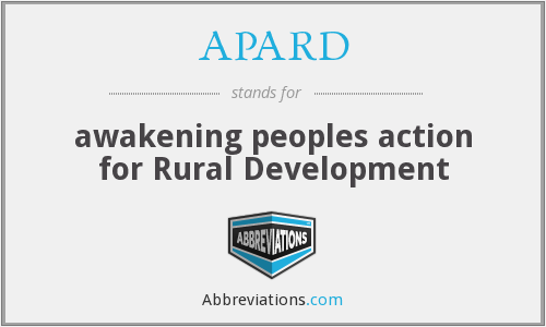 What does APARD stand for?