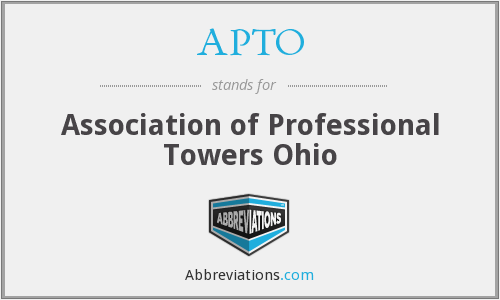 What does APTO stand for?
