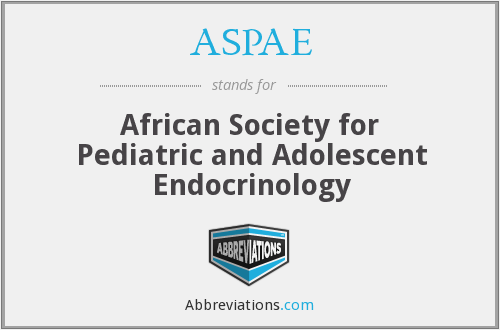 What does ASPAE stand for?