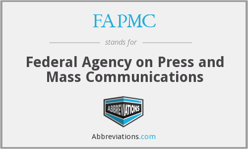 What does FAPMC stand for?