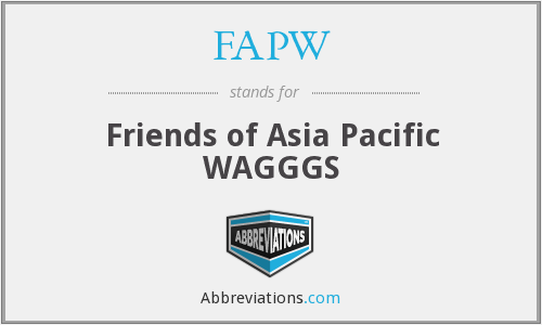 What does FAPW stand for?