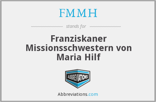 What does FMMH stand for?