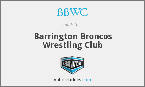 What does BBWC stand for?