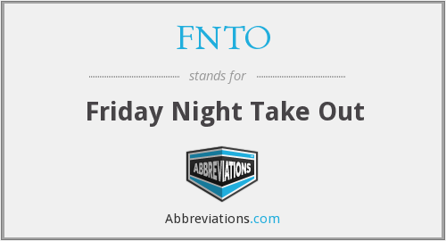 What does FNTO stand for?