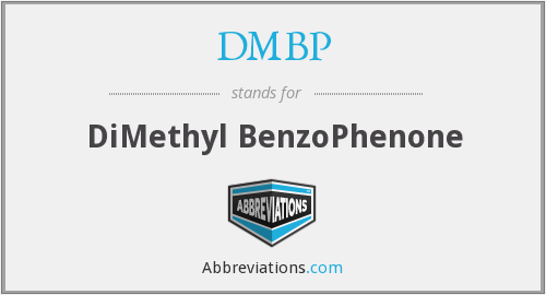 What does DMBP stand for?