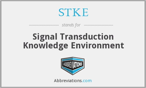 What does STKE stand for?