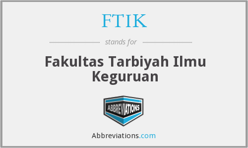 What does FTIK stand for?