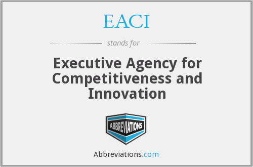 What does EACI stand for?