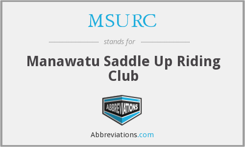 What does MSURC stand for?