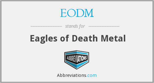 What does EODM stand for?