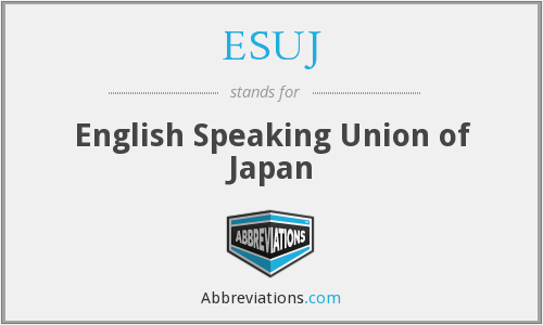 What does ESUJ stand for?