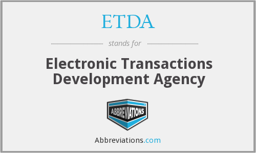 What does ETDA stand for?