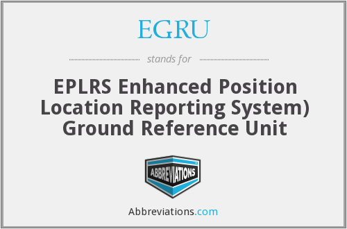 What does EGRU stand for?