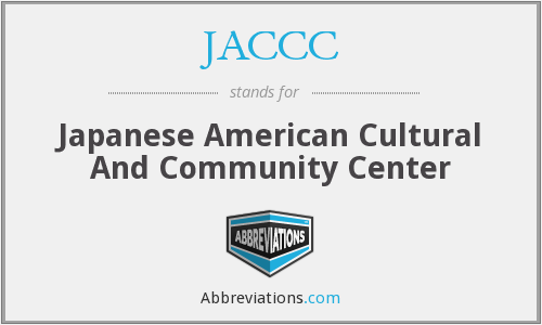 What does JACCC stand for?