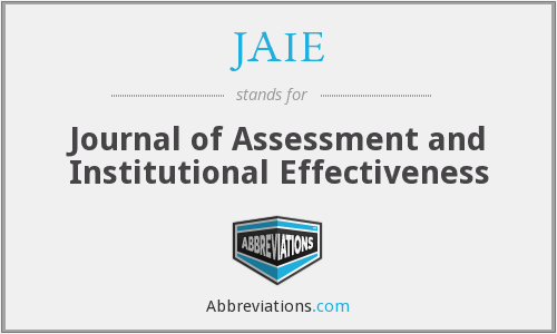 What does JAIE stand for?