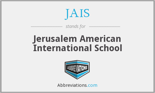 What does JAIS stand for?