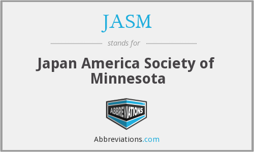 What does JASM stand for?