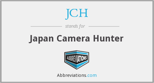 What does JCH stand for?