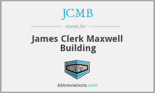 What does JCMB stand for?