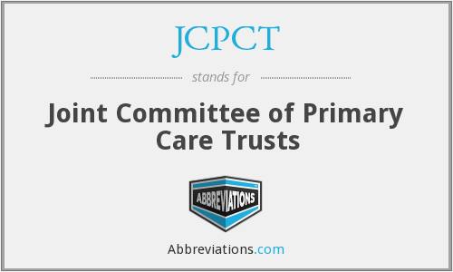 What does JCPCT stand for?