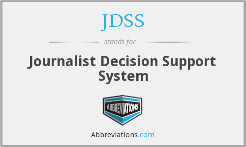What does JDSS stand for?