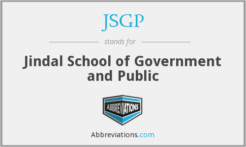What does JSGP stand for?