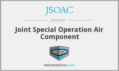 What does JSOAC stand for?