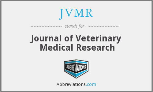 What does JVMR stand for?