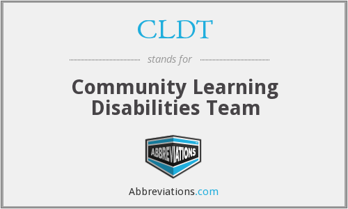 What does CLDT stand for?